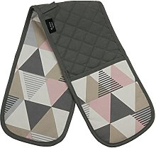McAlister Textiles Vita Blush Pink + Grey Double