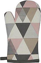 McAlister Textiles Vita Blush Pink + Grey Single