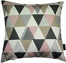 McAlister Textiles Vita Pink 49cm Filled Cushion,