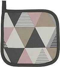 McAlister Textiles Vita Placemat Trivet | Blush