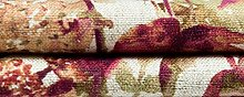 McAlister Textiles Wildflower Spice Orange Fabric