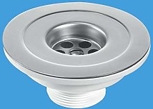 """McAlpine 1 1/2"""" Centre Pin Reducer Sink with"""