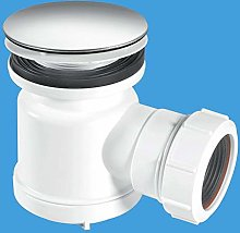 McAlpine 50mm Shower Trap with Universal Outlet