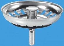 Mcalpine Basket Strainer Waste Plug - Stemball