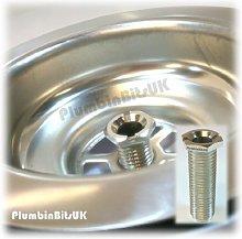 McAlpine Sink Basket Strainer Waste 12mm Threaded