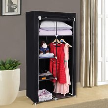 Mccaffery 88cm Wide Portable Wardrobe Rebrilliant