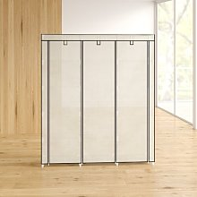 Mccart 150 Wide Canvas Portable Wardrobe