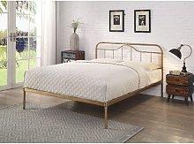Mcgowan Bed Frame Borough Wharf Size: Kingsize