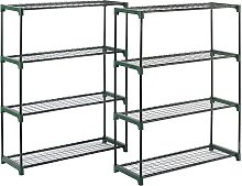 McGregor Greenhouse Shelving - Twin Pack