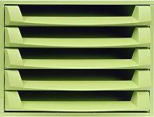 Mcintosh Desk Organiser Symple Stuff Colour: Green