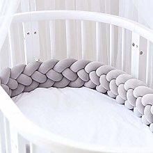 MCKOD Crib Bumper for Full-Size - Handmade Soft