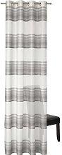Mcnary Eyelet Sheer Single Curtain Mercury Row
