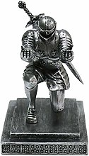 Mcottage Armor Knight Pen Holder with Sword