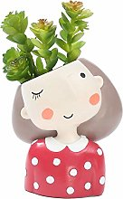 Mcottage Cartoon Resin Plant Flower Pot Succulent