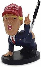 Mcottage Donald Trump Pen Holder Funny Gag White