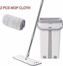 Mcottage Flat Mop Bucket Set 360 Degree Rotation
