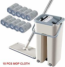 Mcottage Free Hand Wash Flat Mop Cleaning Lazy