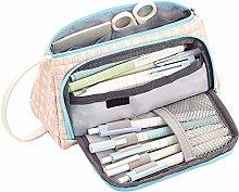 Mcottage Plaid Pencil Case Multifunction Portable