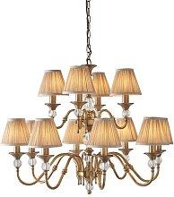 Mcveigh 12-Light Shaded Chandelier Astoria Grand