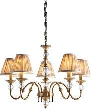 Mcveigh 5-Light Shaded Chandelier Astoria Grand