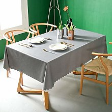 MCZ Heavy Weight Vinyl Tablecloth For Rectangle