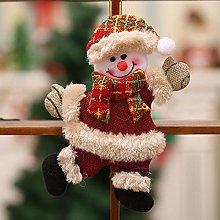 MDenker Christmas Decorations 2Pcs /4Pcs Santa