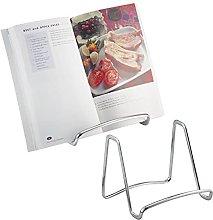 mDesign 2 pc. Set Steel Cookbook Holder -