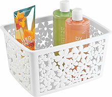 mDesign Bath Basket for Your Bathroom Accessories