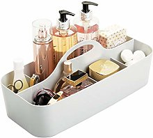 mDesign Bathroom Basket with 11 Compartments -