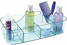 mDesign Bathroom Basket with Handles – Extra