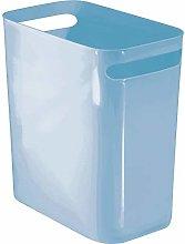 mDesign Bathroom Bin – Rubbish Bin for Bedrooms,