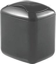 mDesign Bathroom Wastebasket – Mini Bathroom Bin