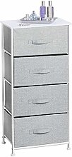 mDesign Cabinet Organizer with Fabric - Cabinet
