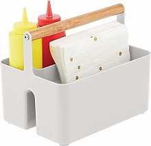 mDesign Condiment Caddy — Portable Kitchen