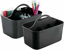 mDesign Desk Organisers - Office Accessories for