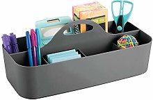 mDesign Desk Tidy with Handle – Practical Office