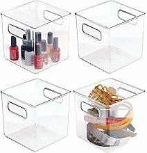 mDesign Drawer Box – Storage Box with Handles