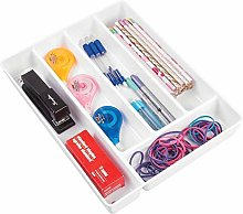 mDesign Drawer Insert – Plastic Drawer Divider