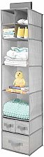 mDesign Hanging Cupboard Organiser — Breathable