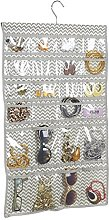 mDesign Hanging Jewellery Organiser Case for Ring,