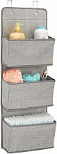 mDesign Hanging Storage with 3 Pockets -