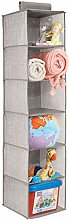 mDesign Hanging Toy Storage - Baby Wardrobe
