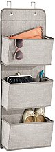 mDesign Hanging Wardrobe Organisers - Hanging Bag