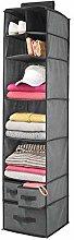 mDesign Hanging Wardrobe Storage – Useful