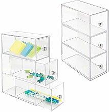 mDesign Home Office, Desk Organizer Storage