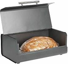 mDesign Kitchen Bread Bin – Metal Kitchen