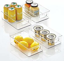 mDesign Kitchen Cabinet and Pantry Storage
