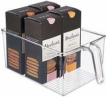 mDesign Kitchen Cabinet Organiser – Fridge