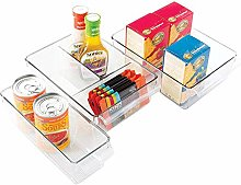 mDesign Kitchen Cabinet Organizers, Storage for