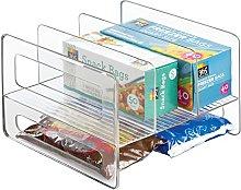 mDesign Kitchen Cabinet Storage Organiser Flip